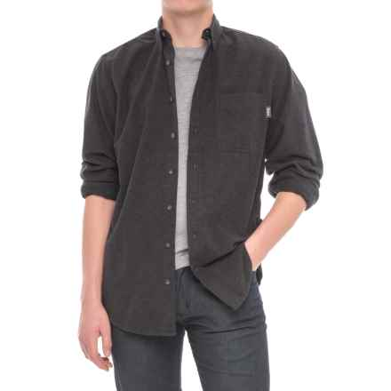 Woolrich Sportsman Chamois Shirt - Long Sleeve (For Men) in Dark Charcoal Heather - Closeouts