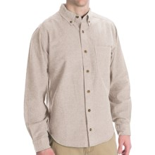 Woolrich Sportsman Chamois Shirt - Long Sleeve (For Men) in Oatmeal Heather - Closeouts