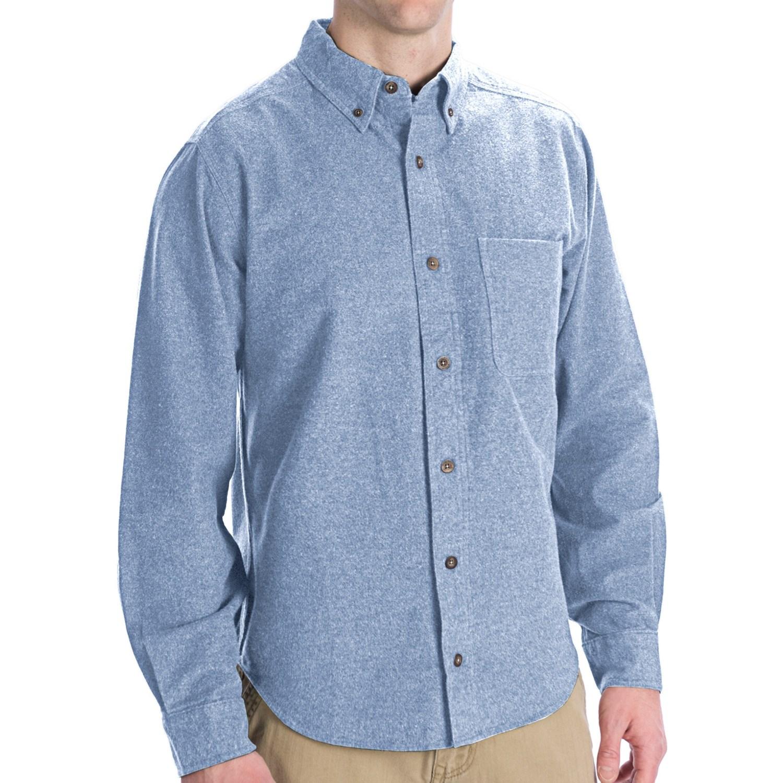 Woolrich Sportsman Chamois Shirt - Long Sleeve (For Men ...