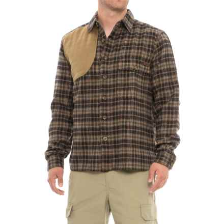 Woolrich Sportsman's Flannel Shooting Shirt - Long Sleeve (For Men) in Loden Plaid - Closeouts
