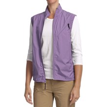 Woolrich Spring Hill Vest - UPF 40+, Packable, Water Resistant (For Women) in Wisteria - Closeouts