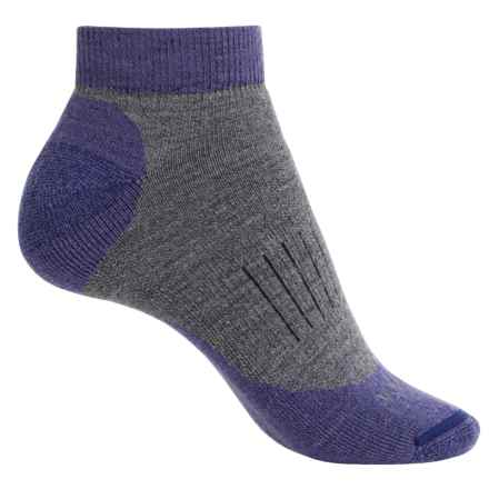Woolrich Spruce Creek Hiker Socks - Merino Wool, Ankle (For Women) in Ultra Violet - Closeouts