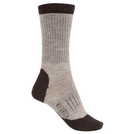 Woolrich Spruce Creek Hiker Socks - Merino Wool, Crew (For Men and Women) in Brown - Closeouts