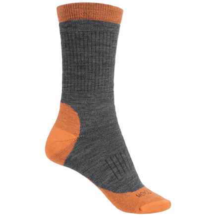 Woolrich Spruce Creek Hiker Socks - Merino Wool, Crew (For Men and Women) in Carrot - Closeouts
