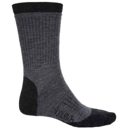 Woolrich Spruce Creek Hiker Socks - Merino Wool, Crew (For Men and Women) in Jet - Closeouts