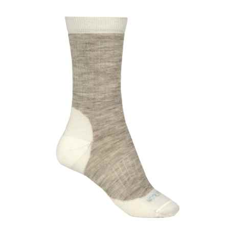 Woolrich Spruce Creek Hiker Socks - Merino Wool, Crew (For Men and Women) in Natural - Closeouts