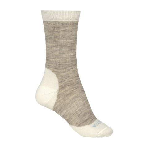 Woolrich Spruce Creek Hiker Socks - Merino Wool, Crew (For Men and Women) in Natural