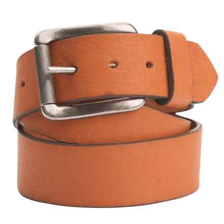 Woolrich Stag Elk Leather Belt (For Men) in Russet - Closeouts