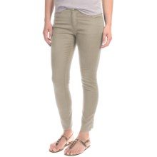 Woolrich Standing Stone Crop Jeans - Slim Fit (For Women) in Silver Gray - Closeouts