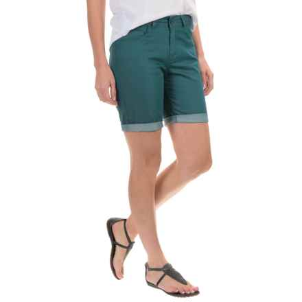 Woolrich Standing Stone Shorts (For Women) in Harbor - Closeouts