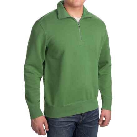 Woolrich Standing Stone Sweatshirt - Zip Neck, Long Sleeve (For Men) in Fern - Closeouts