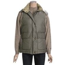 Woolrich Stockton Down Vest - 550 Fill Power (For Women) in Spruce - Closeouts