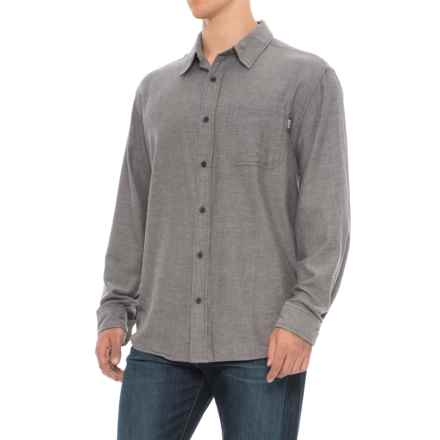 Woolrich Stone Rapids Shirt - Long Sleeve (For Men) in Dark Walnut Herringbone - Overstock