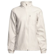 Woolrich Summit Jacket - Soft Shell (For Women) in Winter White - Closeouts