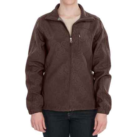 Woolrich Summit Soft Shell Jacket (For Women) in Dark Roast - Closeouts