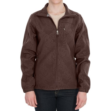 Woolrich Summit Soft Shell Jacket (For Women) in Dark Roast