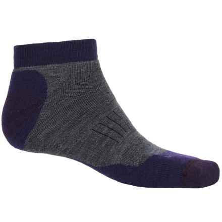 Woolrich Superior Hiking Socks - Merino Wool, Below the Ankle (For Men and Women) in Mid Grey - Closeouts
