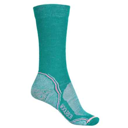 Woolrich Superior Hiking Socks - Merino Wool, Crew (For Women) in Memaid - Closeouts