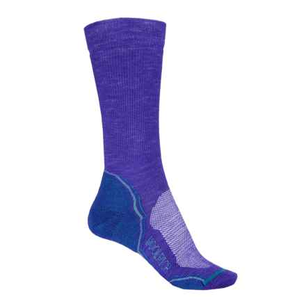 Woolrich Superior Hiking Socks - Merino Wool, Crew (For Women) in Orient Blue - Closeouts