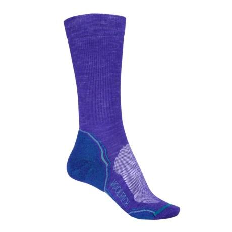 Woolrich Superior Hiking Socks - Merino Wool, Crew (For Women) in Orient Blue