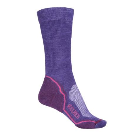 Woolrich Superior Hiking Socks - Merino Wool, Crew (For Women) in Ultra Violet