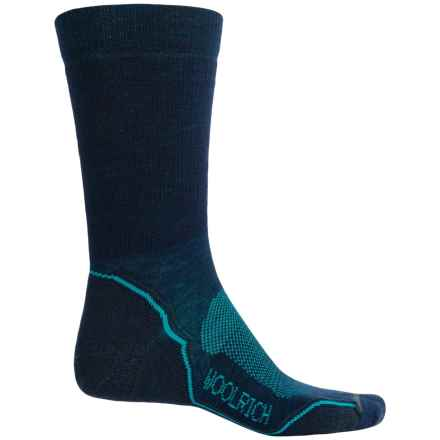 Woolrich Superior Hiking Socks - Merino Wool, Midweight, Crew (For Men) in Admiral - Closeouts