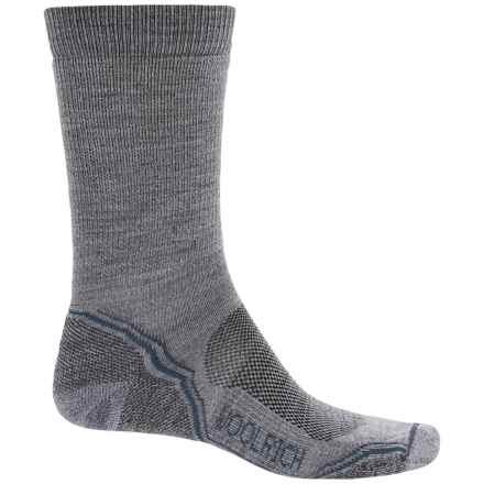 Woolrich Superior Hiking Socks - Merino Wool, Midweight, Crew (For Men) in Drizzle - Closeouts