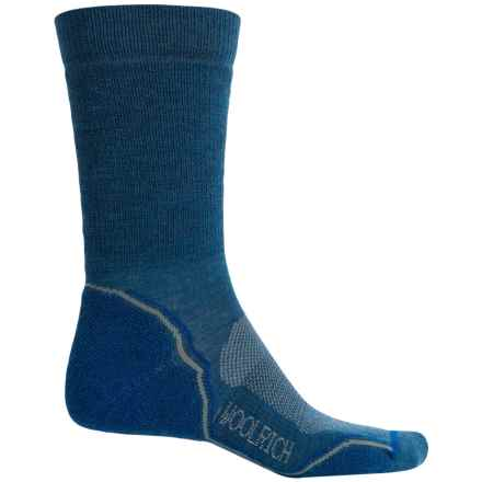 Woolrich Superior Hiking Socks - Merino Wool, Midweight, Crew (For Men) in Equinox - Closeouts