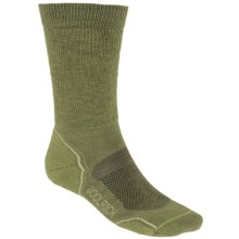 Woolrich Superior Hiking Socks - Merino Wool, Midweight, Crew (For Men) in Iguana/Java - Closeouts