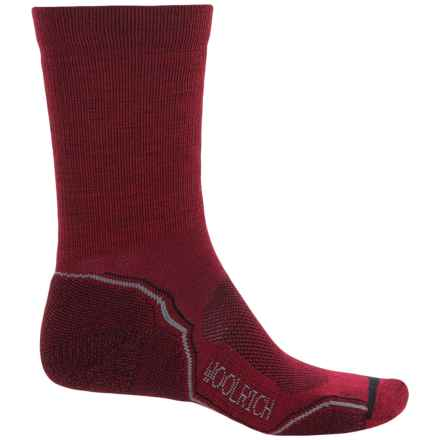 Woolrich Superior Hiking Socks - Merino Wool, Midweight, Crew (For Men) in Mars - Closeouts