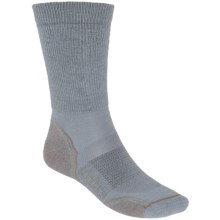 Woolrich Superior Hiking Socks - Merino Wool, Midweight, Crew (For Men) in Nickel/Tan - Closeouts