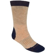 Woolrich Superior Ribbed Casual  Hiking Socks - Merino Wool, Midweight, Crew (For Men) in Navy/Marble - Closeouts