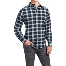 Woolrich Tall Pine Flannel Shirt Jacket - Lined (For Men) in Navy Plaid - Closeouts
