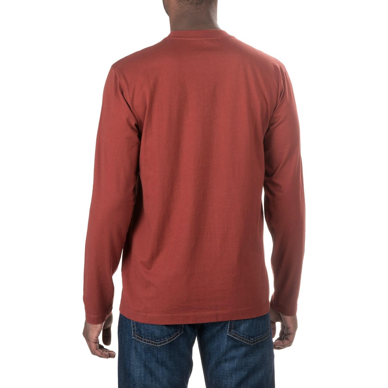 Woolrich tall pine pocket t shirt for men for Mens long sleeve t shirts tall