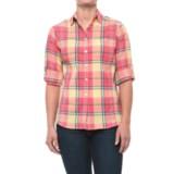 Woolrich Tall Pine Pucker Convertible Shirt - Long Sleeve (For Women)