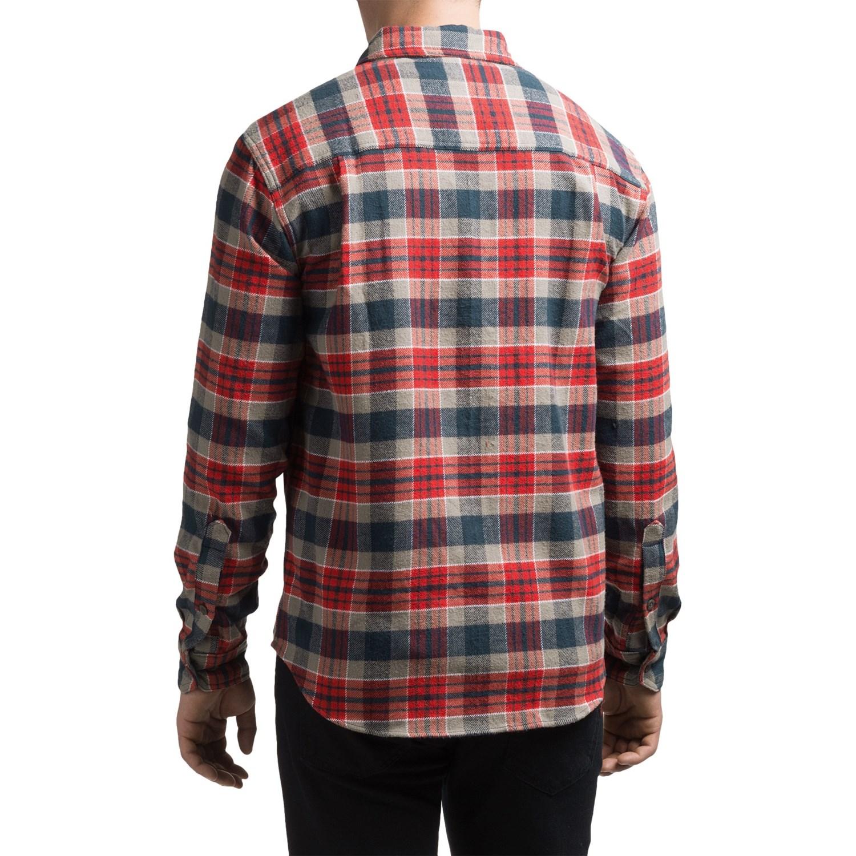 Woolrich Tall Pines Heavyweight Flannel Shirt (For Men)