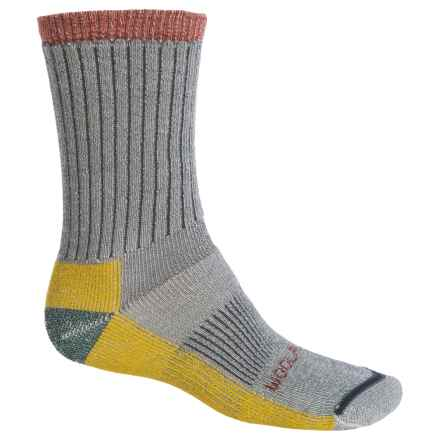 Woolrich Ten-Mile Edge Socks - Merino Wool Blend, Crew (For Men) in Charcoal - Closeouts