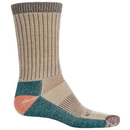 Woolrich Ten-Mile Edge Socks - Merino Wool Blend, Crew (For Men) in Coffee - Closeouts