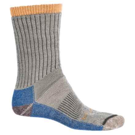 Woolrich Ten-Mile Edge Socks - Merino Wool Blend, Crew (For Men) in Ivy - Closeouts