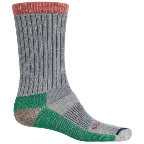Woolrich Ten-Mile Edge Socks - Merino Wool Blend, Crew (For Men) in Navy