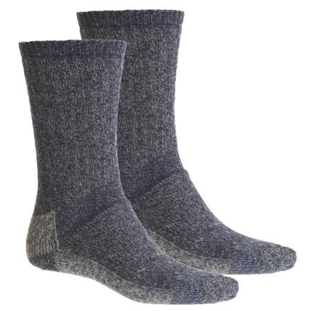 708cc41e7fbda Woolrich Ten-Mile Heather Hiking Socks - 2-Pack, Merino Wool, Crew