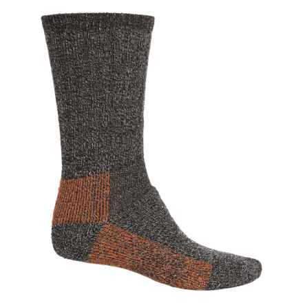 Woolrich Ten-Mile Heather Hiking Socks - Merino Wool, Crew (For Women) in Mocha - Closeouts