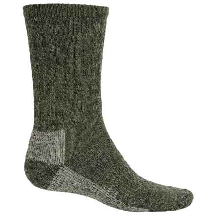 Woolrich Ten-Mile Heather Hiking Socks - Merino Wool, Crew (For Women) in Olive - Closeouts