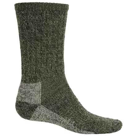 Woolrich Ten-Mile Heather Hiking Socks - Merino Wool, Crew (For Women) in Olive - Closeouts
