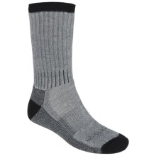 Woolrich Ten Mile Hiking Socks - Merino Wool Blend, Midweight, Crew (For Men) in Black - Closeouts