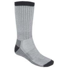 Woolrich Ten Mile Hiking Socks - Merino Wool Blend, Midweight, Crew (For Men) in Carbon - Closeouts