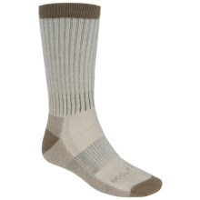 Woolrich Ten Mile Hiking Socks - Merino Wool Blend, Midweight, Crew (For Men) in Hazelnut - Closeouts