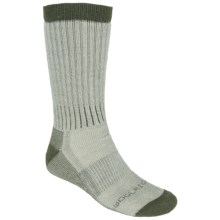 Woolrich Ten Mile Hiking Socks - Merino Wool Blend, Midweight, Crew (For Men) in Loden - Closeouts