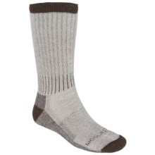 Woolrich Ten Mile Hiking Socks - Merino Wool Blend, Midweight, Crew (For Men) in Raw Umber - Closeouts