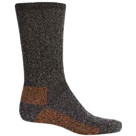Woolrich Ten Mile Socks - Merino Wool, Crew (For Men) in Mocha - Closeouts